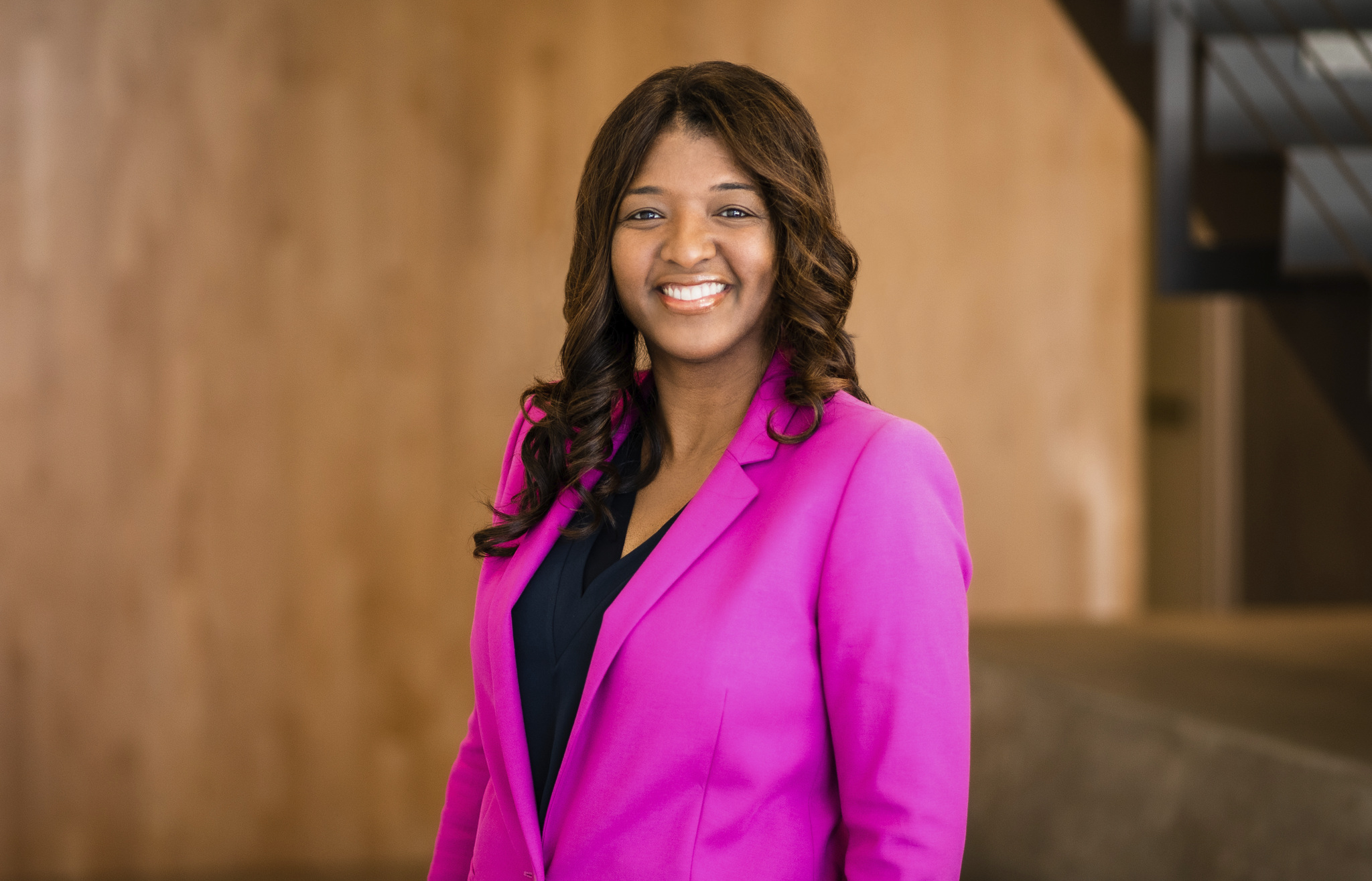 Photo of Angela Lucien, director of Risk Management and Insurance Services at UCSF.